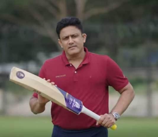 Anil Kumble,Anil Kumble's sports technology startup,Spektacom Anil Kumble,Anil Kumble Spektacom Startup,Anil Kumble Cricket India