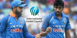 ICC One Day Player Ranking,ICC One Day team Rankings,Virat Kohli Ranking One Day Cricket,Jasprit Bumrah One Day Cricket Ranking,MRF Tyres ICC ODI Player Rankings