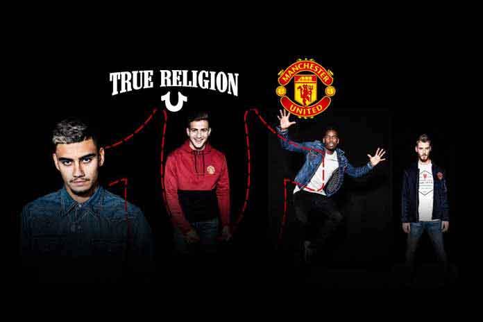 Manchester United True Religion Partnership,Manchester United's sponsorship,True Religion partnership deal,Manchester United EA Sports,Premier League club Manchester United