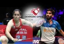 Saina Nehwal Denmark Open,Kidambi Srikanth Denmark Open,Denmark Open 2018,HSBC World Tour Rankings,World Tour Rankings Saina Nehwal and Kidambi Srikanth