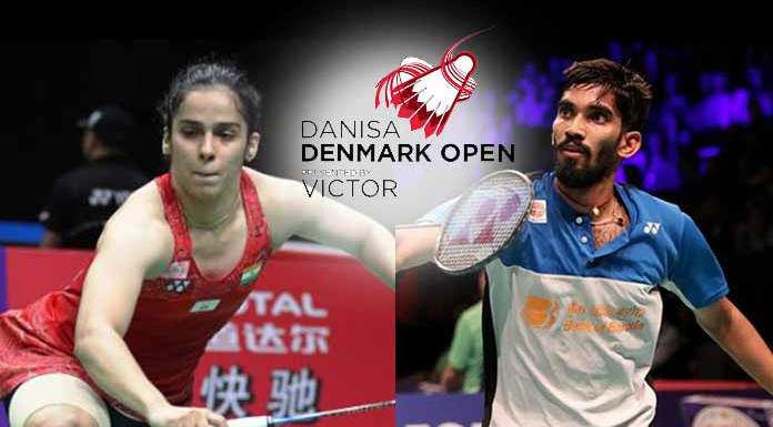 Saina Nehwal Denmark Open,Kidambi Srikanth Denmark Open,Denmark Open 2018,HSBC World Tour Rankings,World Tour Rankings Saina Nehwal and Kidambi Srikanth