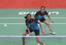 Olympic medallists PV Sindhu,PV Sindhu and Saina Nehwal,Denmark Open badminton tournament,USA's Beiwen Zhang,Srikanth Denmark Open