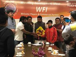 Wrestling Federation of India,WFI Central Contracts IOA,IOA Wrestlers Central Contracts,Indian Olympic Association central contracts,Wrestling Federation Brij Bhushan Sharan Singh