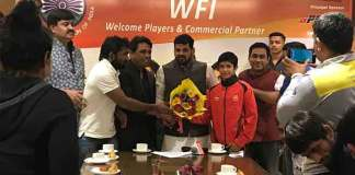 Wrestling Federation of India,WFI Central Contracts IOA,IOA Wrestlers Central Contracts,Indian Olympic Association central contracts,Wrestling Federation Brij Bhushan Sharan Singh