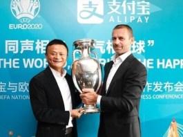 Alipay UEFA Sponsorship Deal,UEFA Sponsorships,UEFA EURO 2020,UEFA Nations Leagues,UEFA national team football