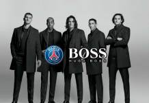 Hugo Boss PSG official tailor partner,PSG official tailor partner,Paris Saint-Germain Hugo Boss partnership,UEFA Champions League matches,PSG partnerships