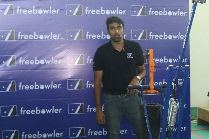 Ravichandran Ashwin,Centre for Sports Science,Freebowler,Bowling Machine,Cricket bowling machine