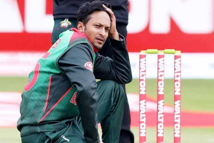 Dhaka Premier League: Shakib Al Hasan banned for four matches after argument with umpire