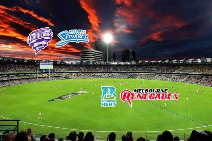Hobart Hurricanes vs Adelaide Strikers LIVE,Brisbane Heat vs Melbourne Renegades LIVE,BBL LIVE Streaming,BBL LIVE telecast,Big Bash League LIVE