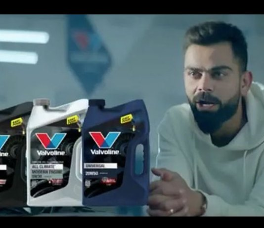 Valvoline Cummins,Virat Kohli,Valvoline brand ambassador,Virat Kohli brand,Sports Business News India