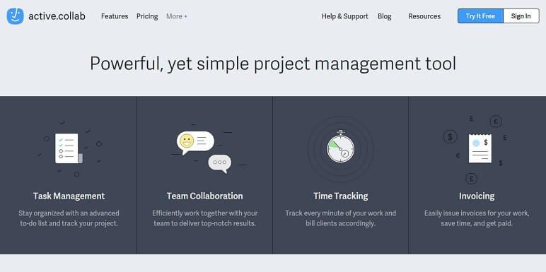Collab نشط - أداة إدارة المشروع