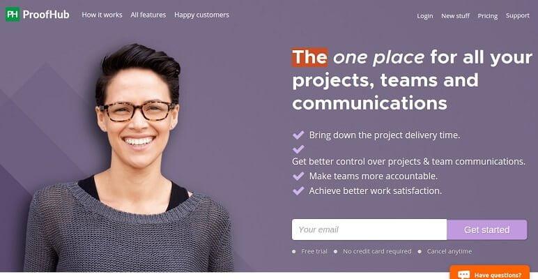 ProofHub - برمجيات إدارة المشاريع والتعاون عبر الإنترنت