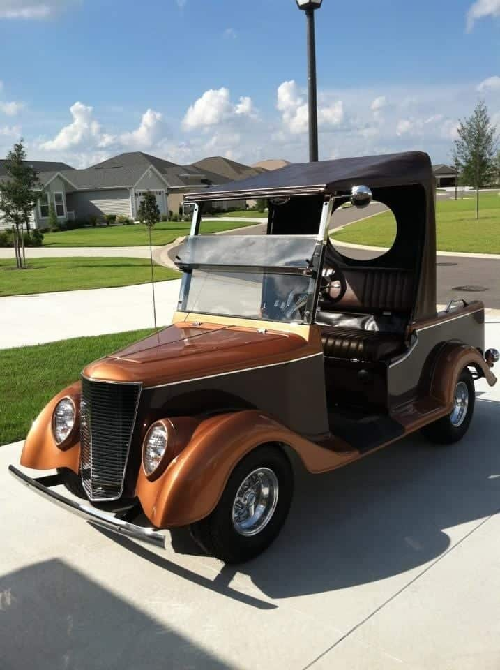 Some Of The Coolest Golf Carts In The Villages