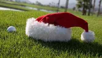 Golf on Christmas Day