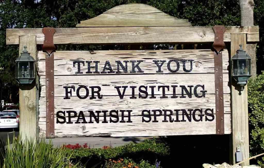 Thank You For Visiting Spanish Springs