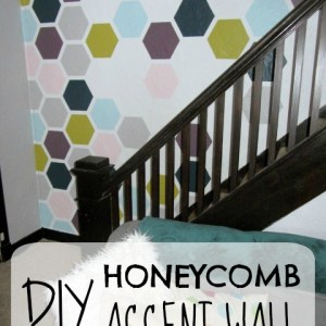 DIY Honeycomb Accent Wall