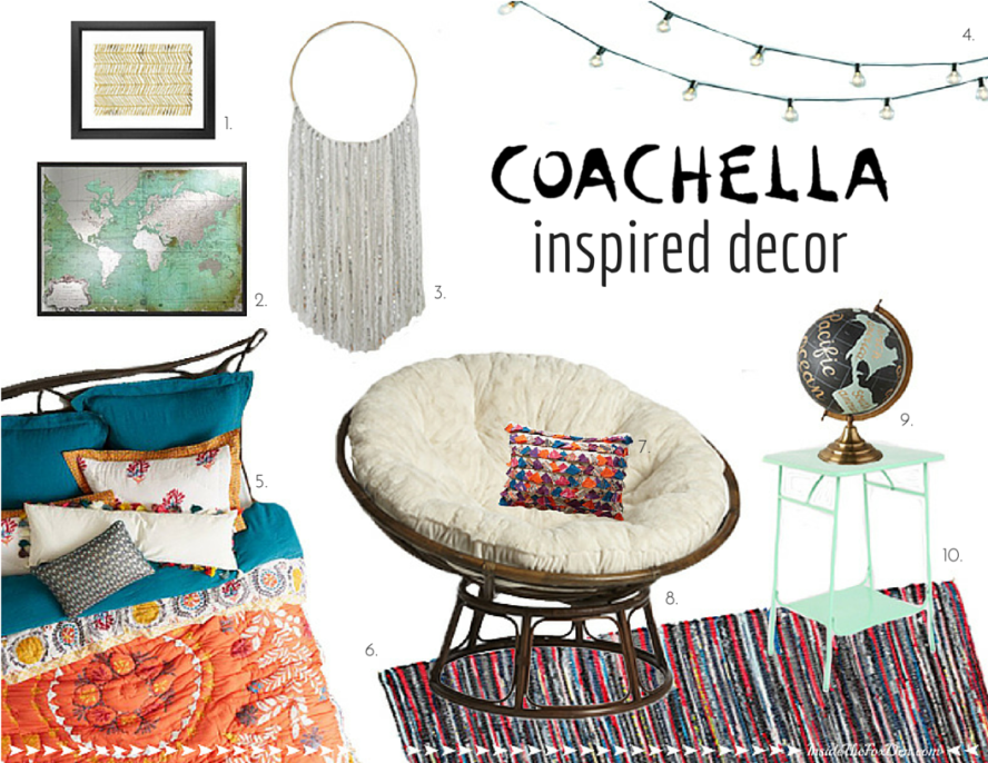 Coachella Inspired Decor | Inside the Fox Den