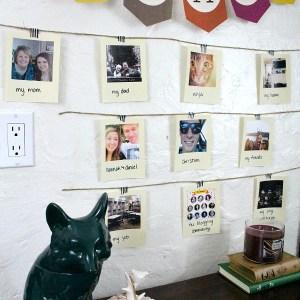 Thankful Polaroid Photo Gallery