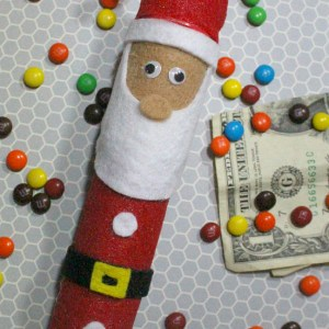 Santa Claus Money Holder