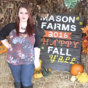 Picking Pumpkins with Glamour Farms