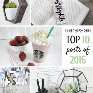 Top Ten Posts of 2016