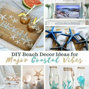 DIY Beach Decor Ideas for Coastal Vibes