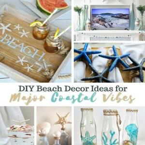 DIY Beach Decor Ideas for Coastal Vibes