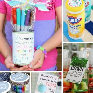 DIY Back to School Teacher Gift Ideas