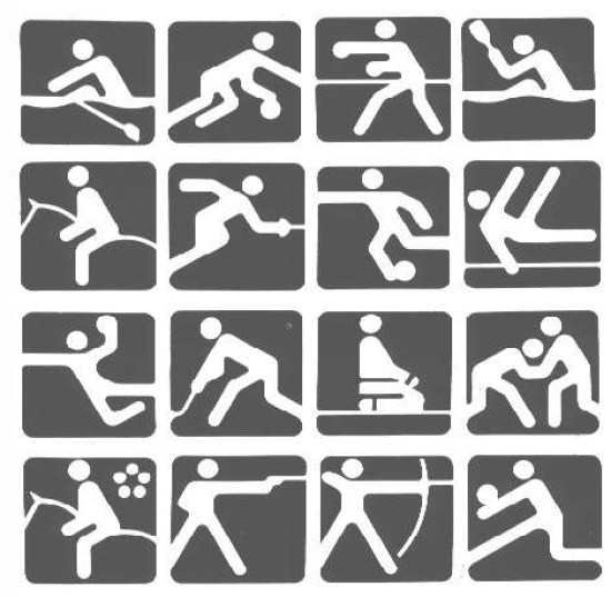 Moscow 1980_pictograms