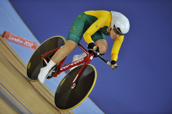Simone Kennedy claimed gold and an Australian record in the C3 women's pursuit at the Australian Para-cycling Championships ©AFP/Getty Images