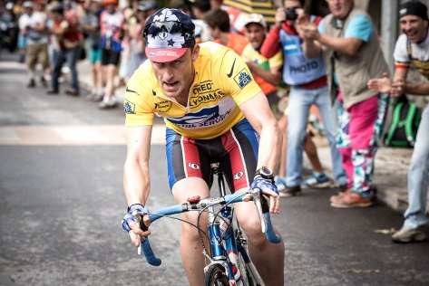 Ben Foster als Lance Armstrong in The Program trailer
