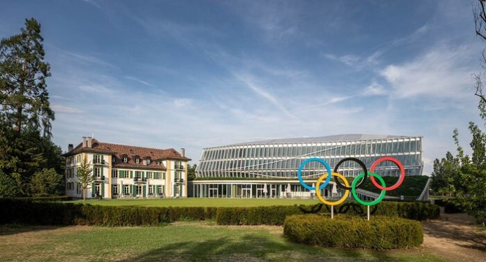 The International Olympic Committee officially opened the Olympic Home in Lausanne in Switzerland in June 2019 © IOC / Adam Mork