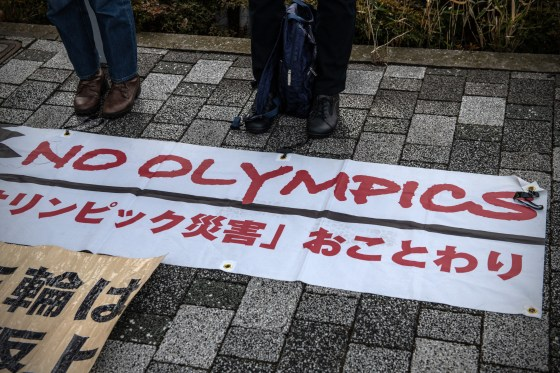 In Tokyo, there is growing opposition to the city hosting the Olympic and Paralympic Games during the current coronavirus pandemic © Getty Images