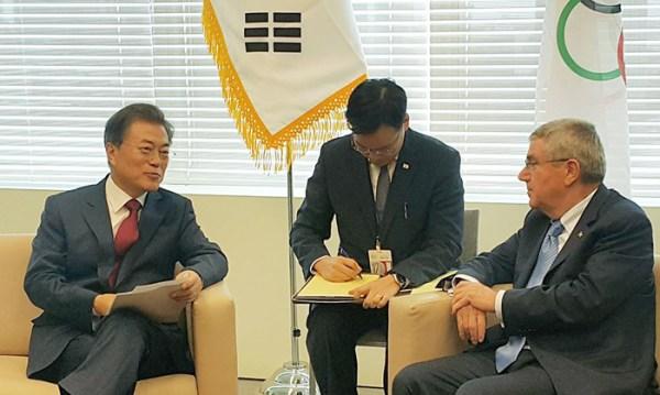 South Korean President promises Pyeongchang 2018 will be ...