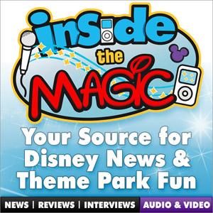 Inside the Magic Podcast Logo