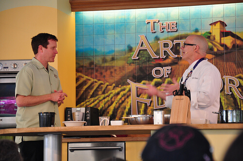 California Food and Wine Festival demonstration