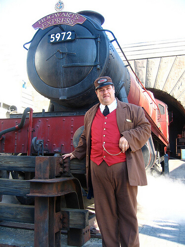 Hogwarts Express conductor