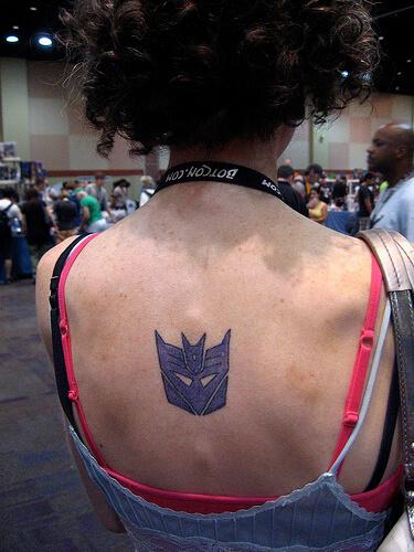 Transformers tattoo