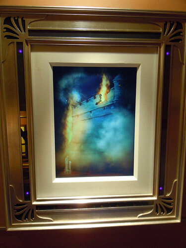 Disney Dream enchanted art - Pirates of the Caribbean