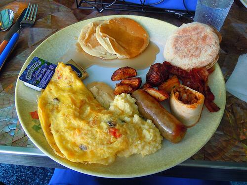 Breakfast - Cabanas