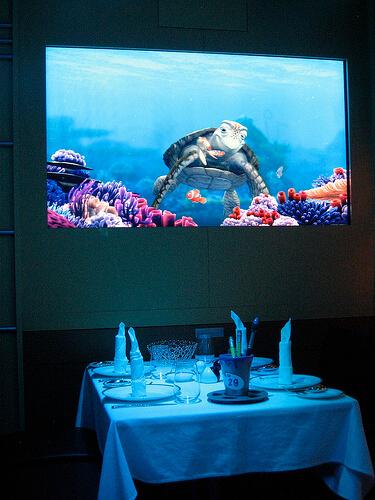 Turtle Talk with Crush - Animator's Palate, Disney Dream