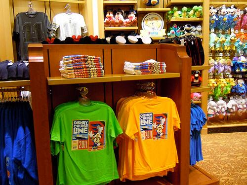 2011 Disney Cruise Line apparelWhite Caps - Disney Dream shopping