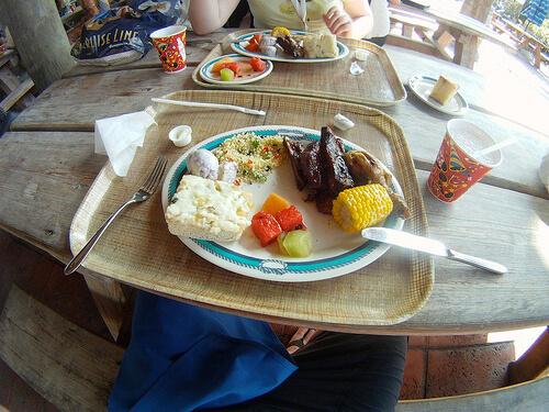 Cookies BBQ food - Castaway Cay