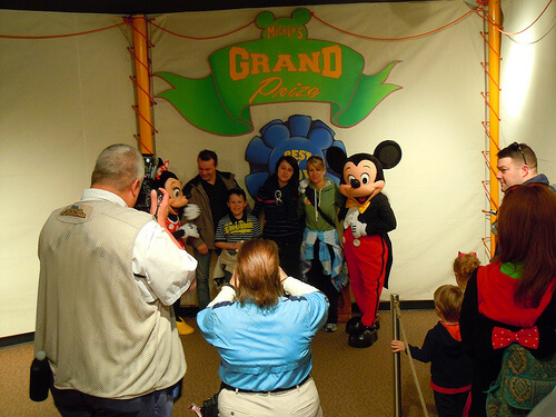 Mickey and Minnie meet and greet