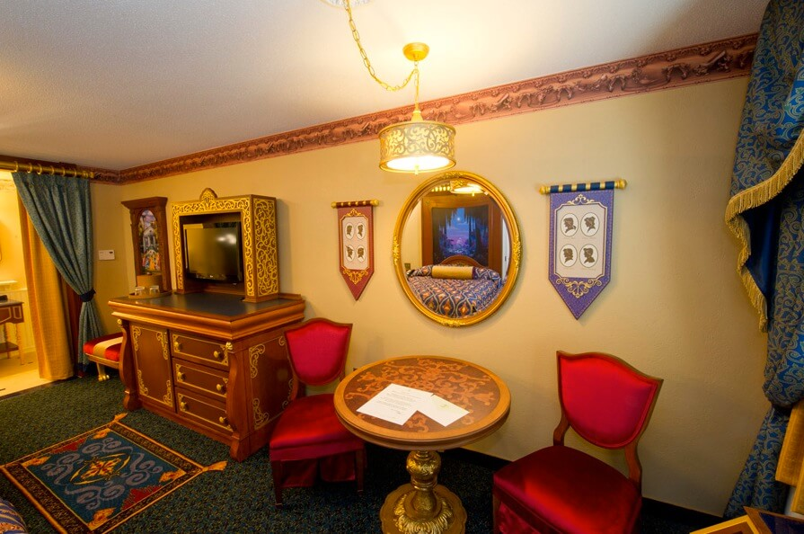Inside The New Royal Guest Rooms At The Walt Disney World
