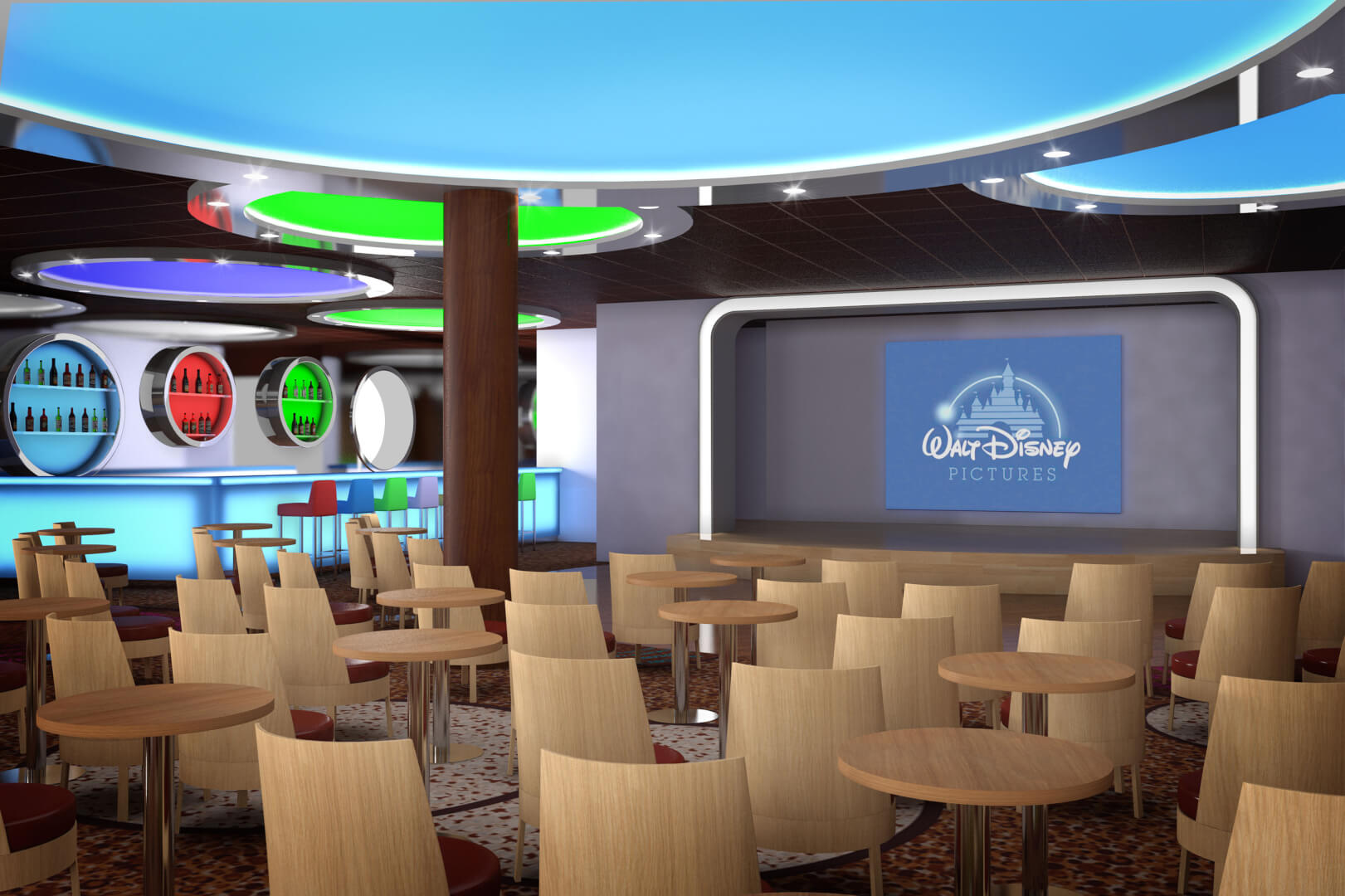 Disney Magic Cruise Ship Upgrades Announced With Aquadunk Drop Slide Marvel Kids Area Revamped