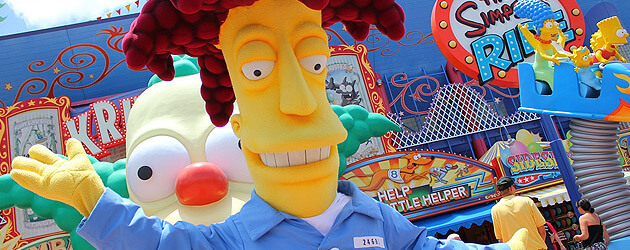 Image result for universal studios springfield sideshow bob
