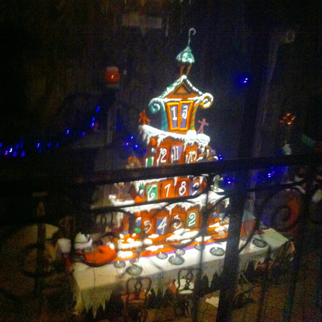 and this years ballroom gingerbread house is more massive than ever a tower paying tribute to the anniversary - Nightmare Before Christmas Gingerbread House