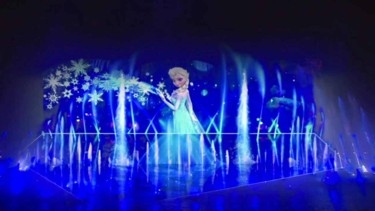 Video Full Quot Let It Go Quot Sequence From Quot Frozen Quot Performed