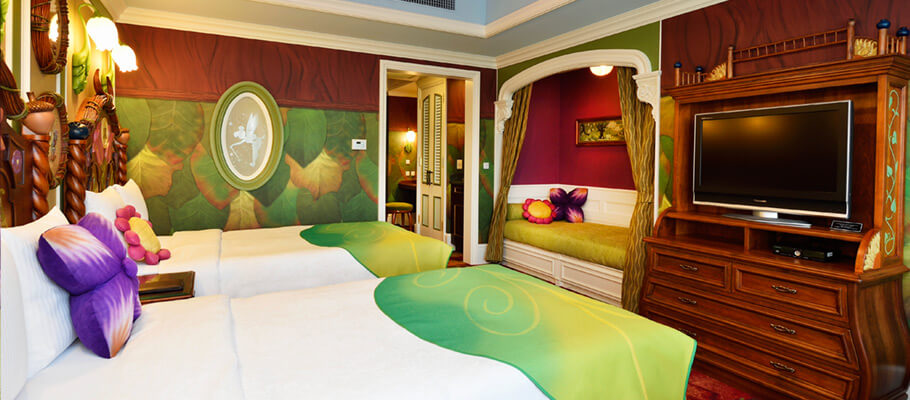 Beautiful Tokyo Disneyland Unveils New Disney Character Themed Hotel Rooms